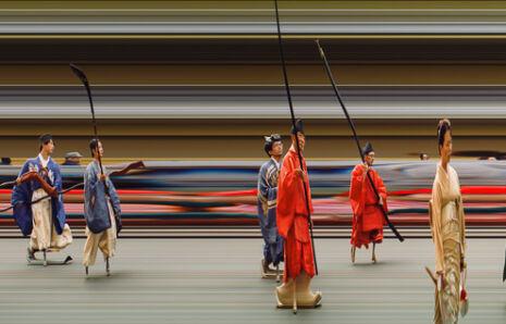Line Scan—Jidai Matsuri (Festival of the Ages)